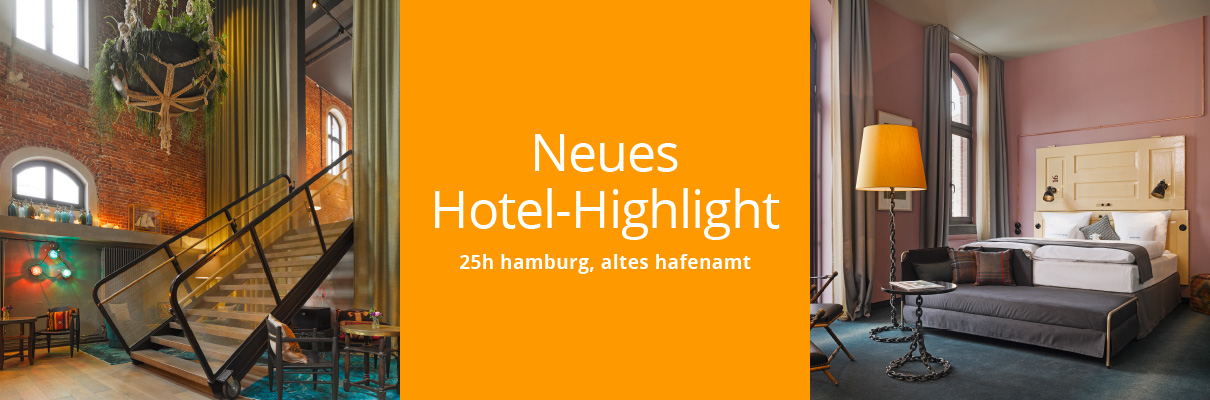 neues hotel highlight 25h hamburg altes hafenamt hollenbach vereinte kompetenz f r maler. Black Bedroom Furniture Sets. Home Design Ideas